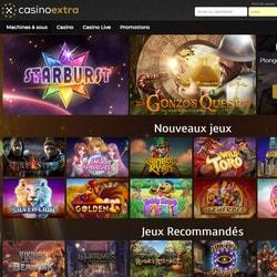 Casino Extra, meilleur casino en ligne francaisCasino Extra