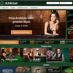 Dublinbet, meilleur casino en ligne francais