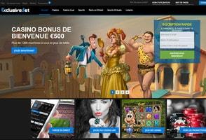 Critique et avis de Exclusivebet Casino par Casino En Ligne