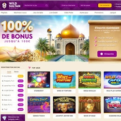 Wild Sultan le casino en ligne 2019