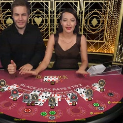 Blackjack en ligne aux live casinos
