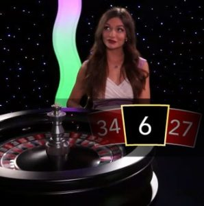 Roulette Immersive d'Evolution Gaming