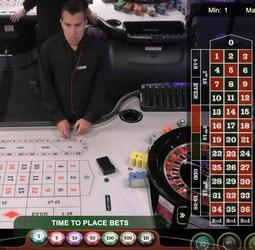 Roulette en ligne du Portomaso Casino de Malte