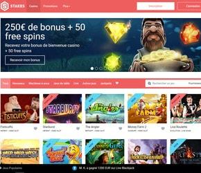 Stakes casino en ligne francais