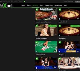 MrXbet intègre Casino En Ligne pour ses 1000 jeux et tables en live
