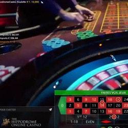 Roulette en ligne du Hippodrome Casino disponible sur Casino Extra