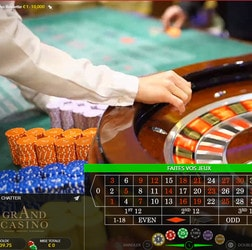 Live Roulette Evolution Gaming en direct de casinos ou de studios