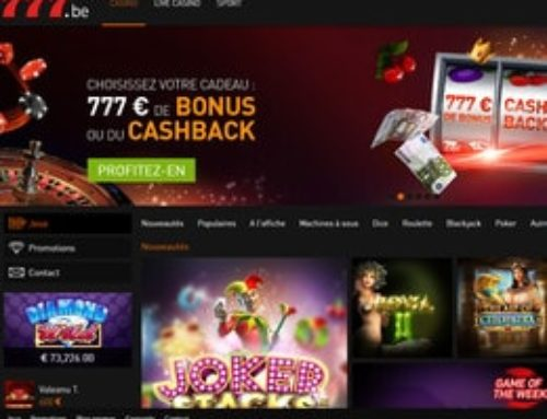 Avis Casino777 : pourquoi c'est le meilleur casino légal en Belgique?