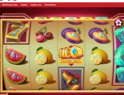 Machine à sous Deco Diamonds sur Lucky31 Casino