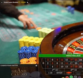 Top Live Roulette en direct de casinos terrestres