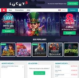 Avis Lucky8 casino par Casino En Ligne