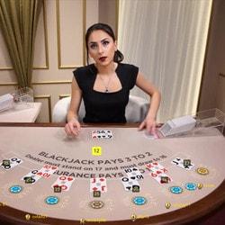 Jouer en argent réel sur les tables de live blackjack non accessible en mode gratuit
