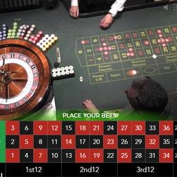 Live roulette avec croupiers en direct accessible en argent réel