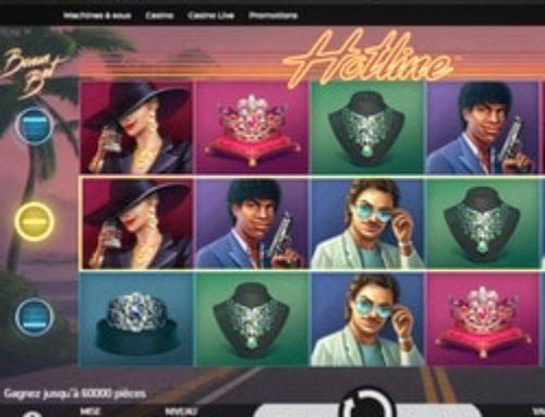Machine à sous Hotline de NetEnt disponible sur Casino Extra