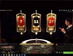 Lightning Roulette, nouveau concept de roulette en ligne d'Evolution Gaming