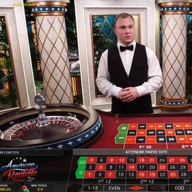 Roulette americaine en ligne pour jouer avec un croupier en direct