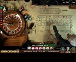 Roulette en ligne Ezugi depuis le Oracle Casino de Malte