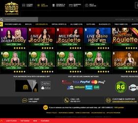 Live Roulette du Golden Nugget Casino d'Atlantic City dans le New Jersey