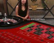 Roulette La Partage d'Evolution Gaming sur Lucky31 Casino