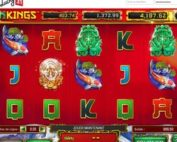 Machine à sous Dragon Kings disponible sur Lucky31 Casino