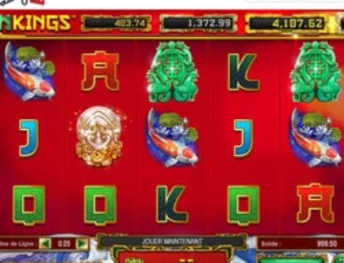 Jouer sur la machine à sous Dragon Kings disponible sur Lucky31 Casino