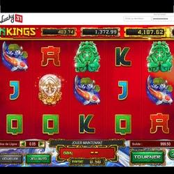 Machine à sous Dragon Kings disponible sur Lucky31 Casino