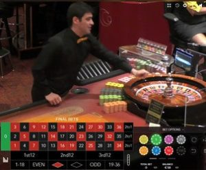 Roulettes en ligne Authentic Gaming en direct live de 5 casinos