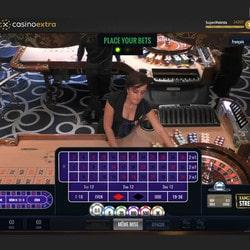 Roulette en live Lusckystreak en direct du Portomaso sur Casino Extra