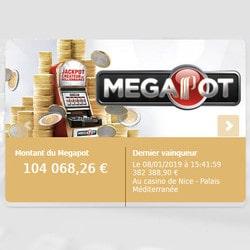 Partouche Megapot au Casino du palais de la Méditerranée de Nice