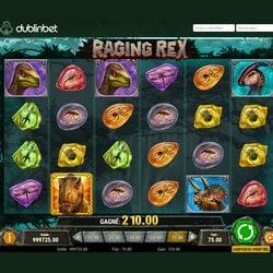 Machine à sous Raging Rex de Play'n Go sur Dublinbet