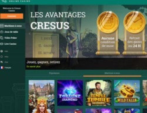 Cresus Casino : nouveau départ 2019 pour un des TOP casinos en ligne