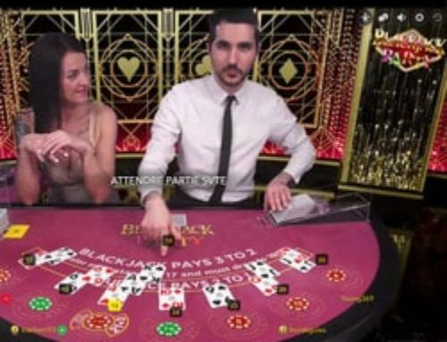 Zoom sur le jeu de black jack en live : Blackjack Party