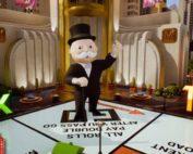 Jeu de Monopoly Live en direct de studio