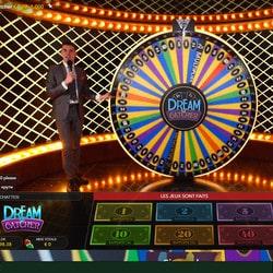 Stakes Casino propose la Fortune Wheel Dream Catcher