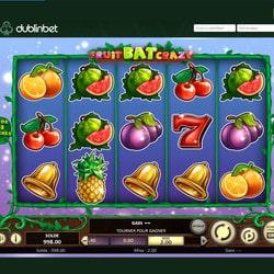 machine à sous gratuite FruitBat Crazy est sur Dublinbet
