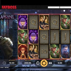 Machine à sous Arcane Reel Chaos disponible sur le casino online Fatboss