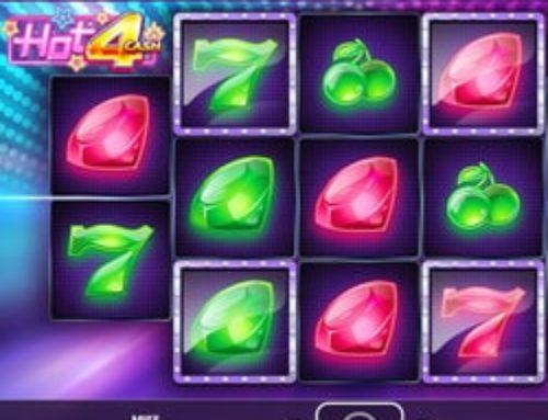 La machine à sous Hot 4 Cash désormais disponible sur Fatboss