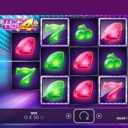 Machine à sous Hot 4 Cash disponible sur Fatboss