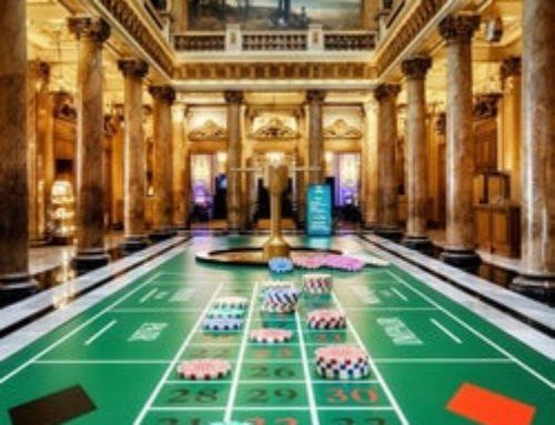 Bold Game : une roulette géante dans l'atrium du Casino de Monte-Carlo