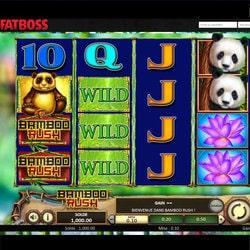Bamboo Rush sur Fatboss : machine a sous Betsoft