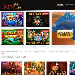 Plus de 1200 jeux en ligne sur KingBit Casino