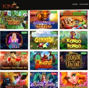 KingBit Casino francais 100% Bitcoin