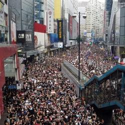 Les manifestations a Hong Kong impactent sur les revenus des casinos de Macao