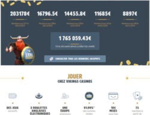 Un joueur décroche un gros jackpot progressif au casino de Vittel