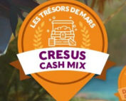 La promotion Trésors de Mars sur Cresus Casino