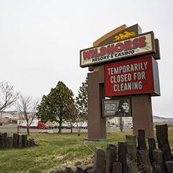 Wildhorse Resort and Casino fermé à cause du Covid-19