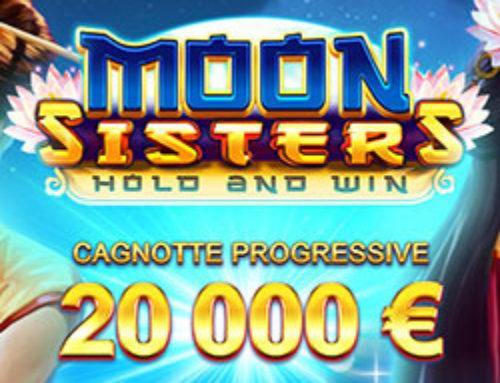 Un tournoi pour la sortie de la machine à sous Moon Sister sur Cresus Casino