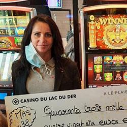 Un jackpot au Casino du Lac du Der