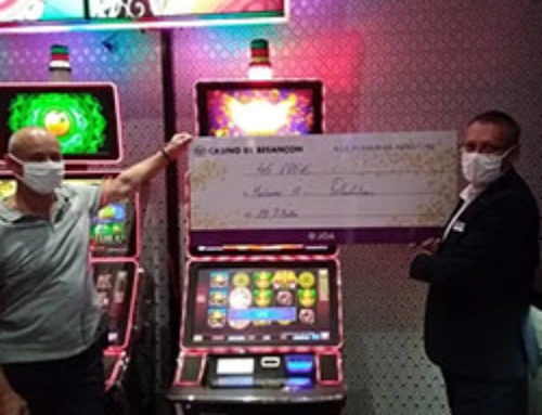 Une habituée du Casino Joa de Besançon gagne un jackpot progressif