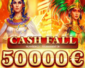 Tournoi Playson Cash Fall sur Cresus Casino